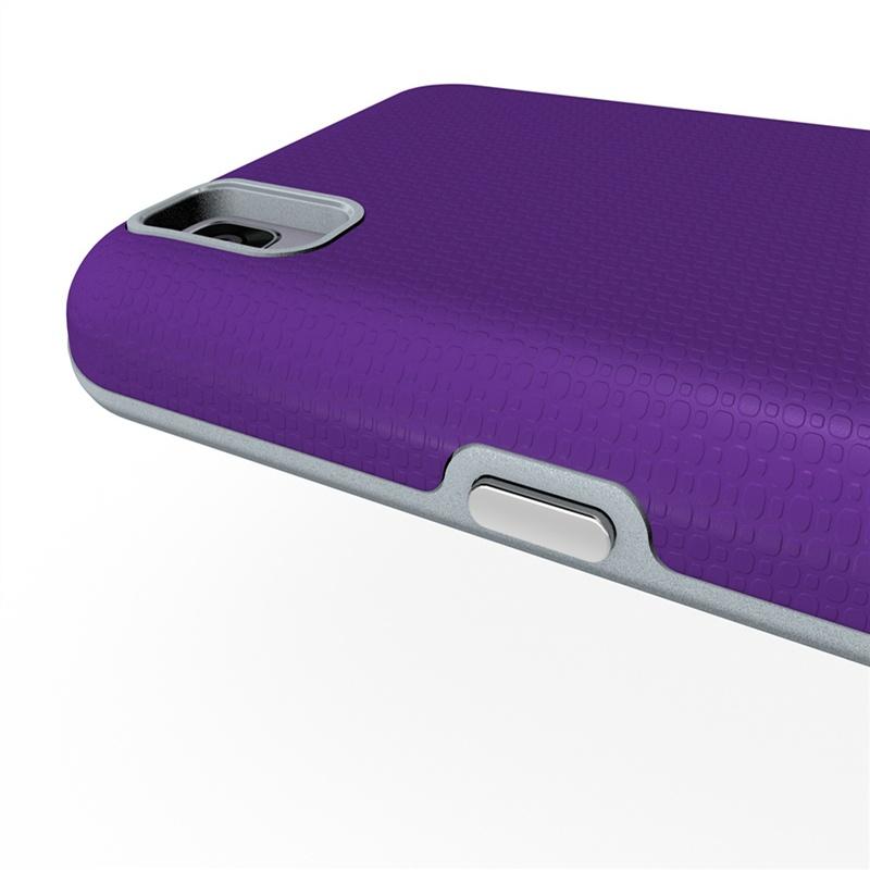 Тонкий чехол для LG X Power (фиолетовый)