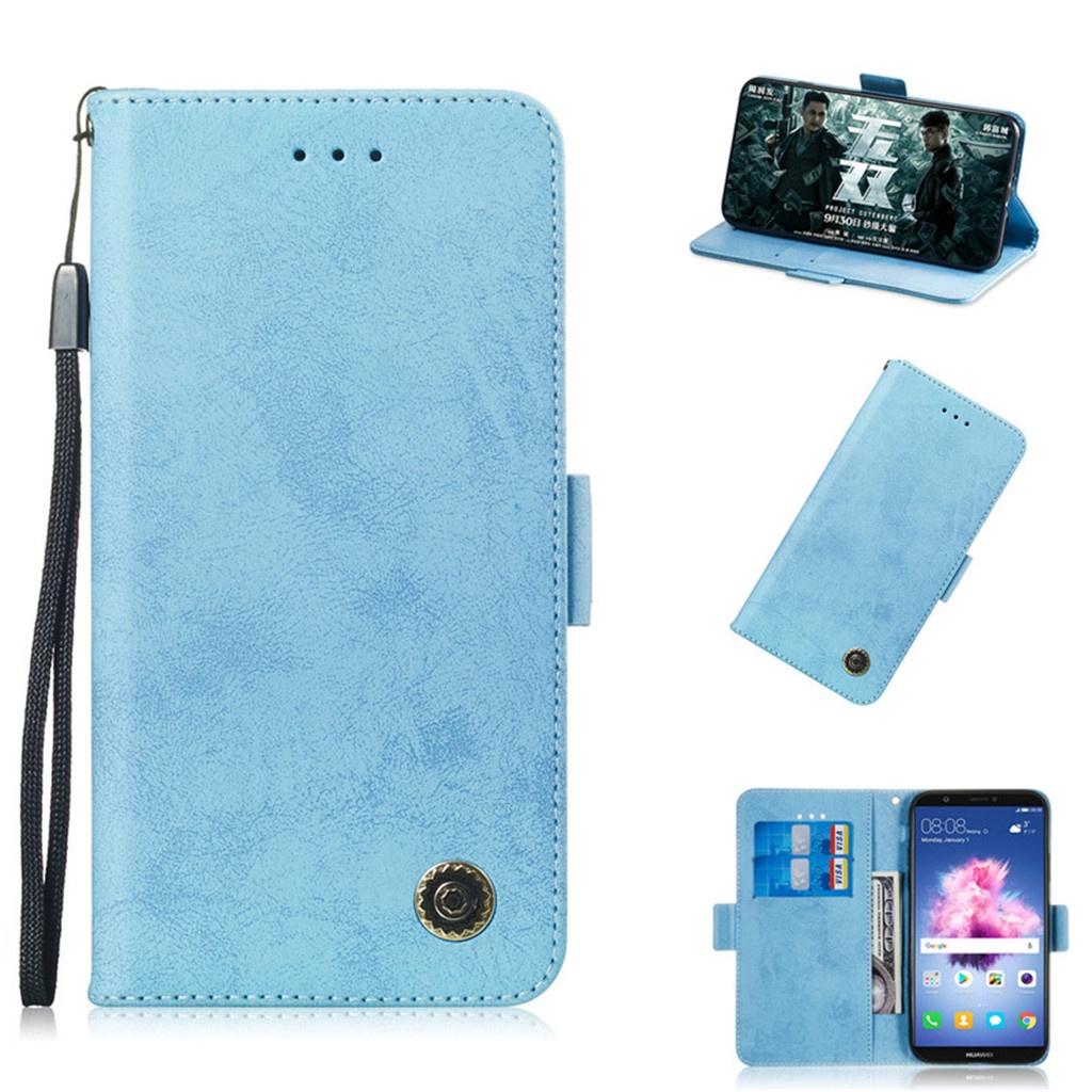 Для Huawei Enjoy 7S / P Smart / Honor 9 Lite Чехол Флип Стенд Бумажник Ретро Кожаный чехол Дизайн Мобильного Телефона Сумки Функция слота для карт памяти стоимость