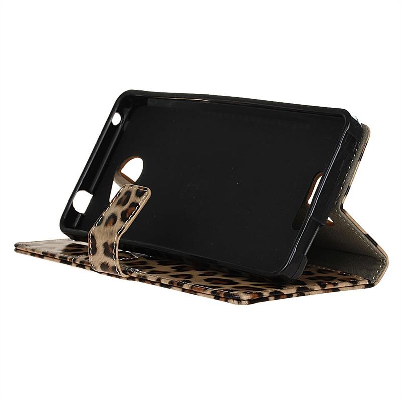 Защитный чехол с магнитной крышкой и леопардовым принтом для Alcatel OneTouch Pop 4S стоимость