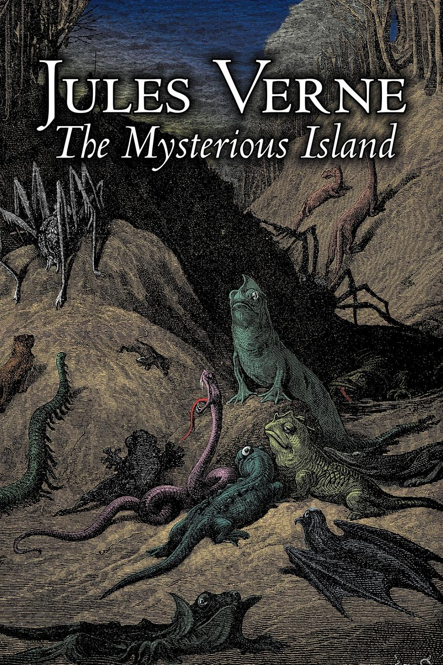 Jules Verne, Stephen W. White The Mysterious Island by Jules Verne, Fiction, Fantasy & Magic