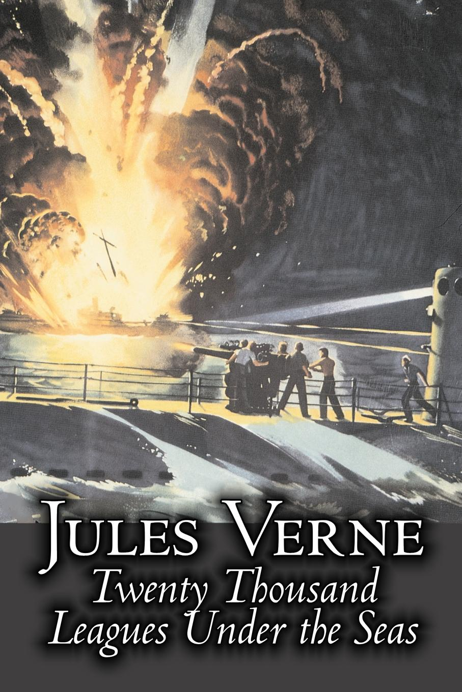 Jules Verne, F. P. Walter Twenty Thousand Leagues Under the Seas by Jules Verne, Fiction, Fantasy & Magic