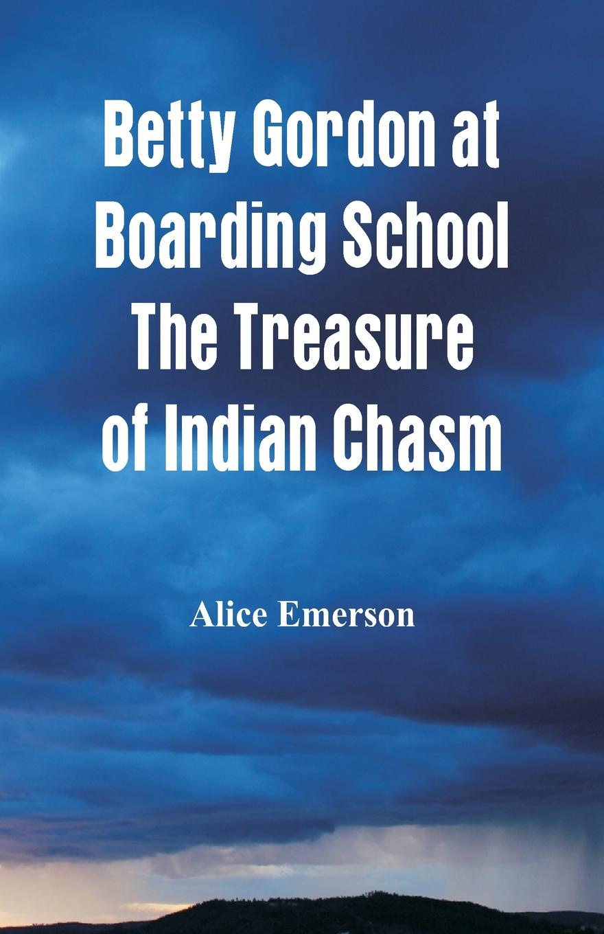 Alice Emerson Betty Gordon at Boarding School The Treasure of Indian Chasm the chasm