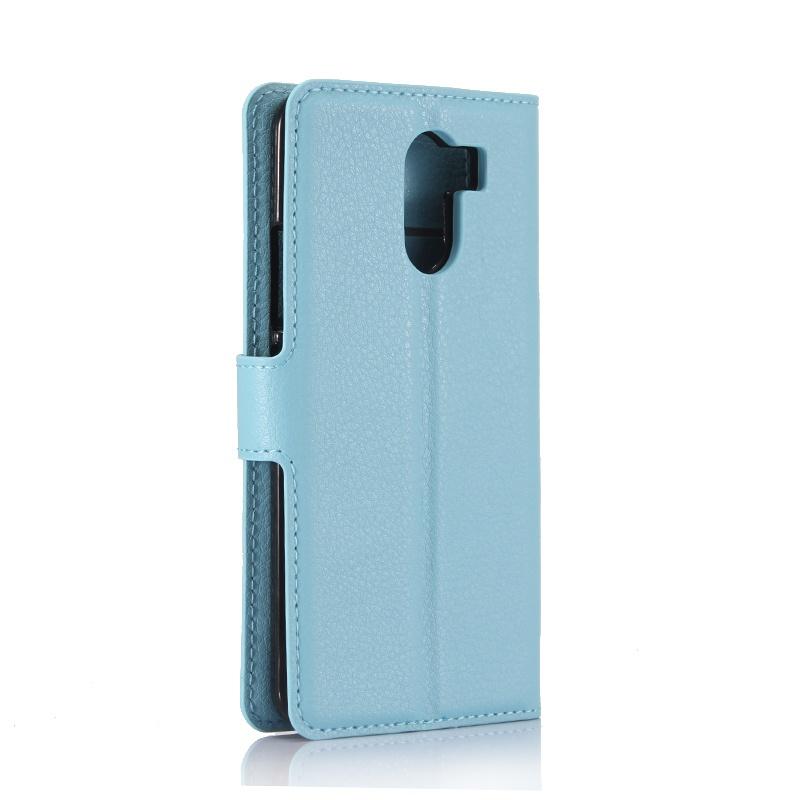Голубой чехол с подставкой для Wileyfox Swift 2 / Swift 2 Plus (5.0). телефон wileyfox spark