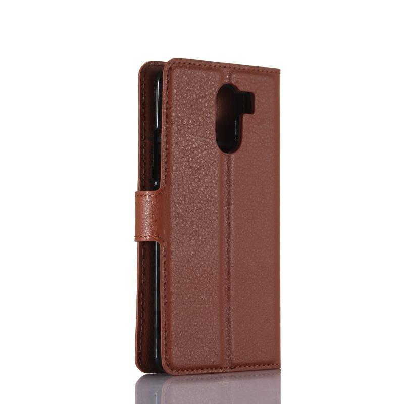 Moonmini Кожаный чехол с флип-функцией и слотами для карт с магнитной крышкой для Wileyfox Swift 2 / Swift 2 Plus (5.0) (коричневый) телефон wileyfox spark