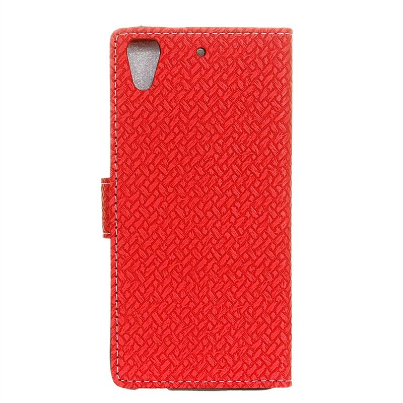 Защитный чехол с держателем фото и магнитным закрытием (красный) Moonmini для HTC Desire 628 скачать карты для htc