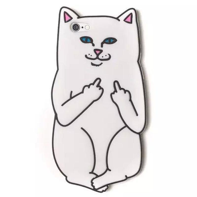 Силиконовый чехол для мобильного телефона iPhone (кот) стоимость
