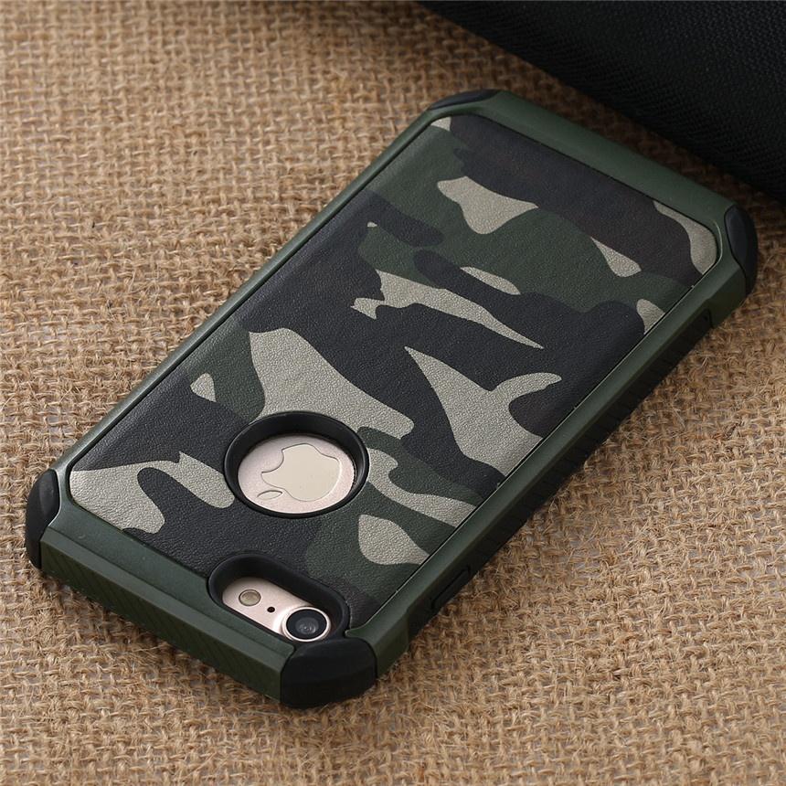 Противоударный защитный чехол задней крышки корпуса с принтом (камуфляж) для iPhone 4/ 5/ 6/ 7/ 7 Plus/ Samsung Galaxy S6/ S6 Edge/ S/7 S7 Edge Note 5/ J2/ J7