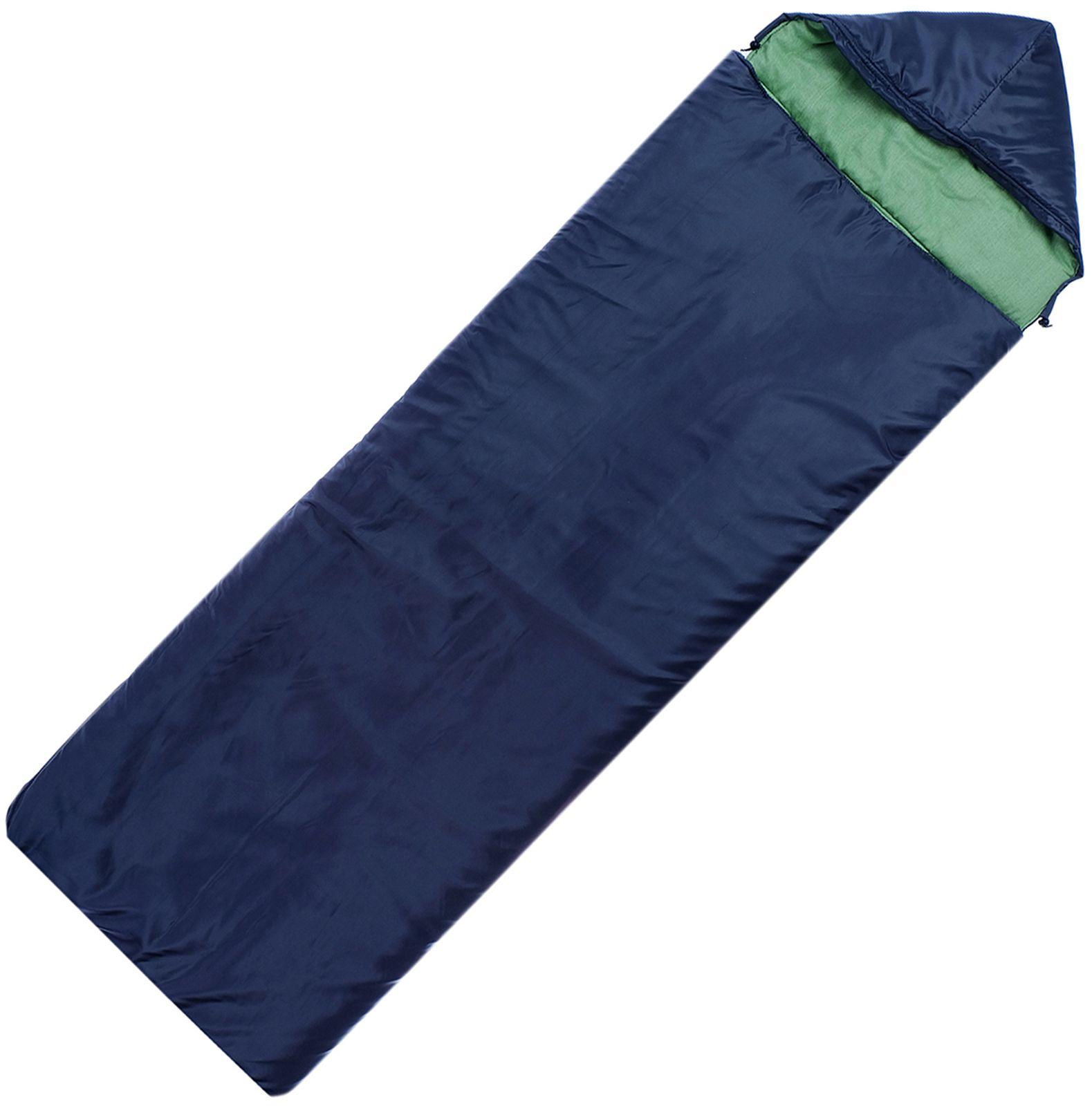 Спальный мешок Maclay 2-слойный с капюшоном увеличенный, 4198884, 225 х 105 см мешок спальный onlitop богатырь правосторонняя молния цвет хаки 225 х 105 см