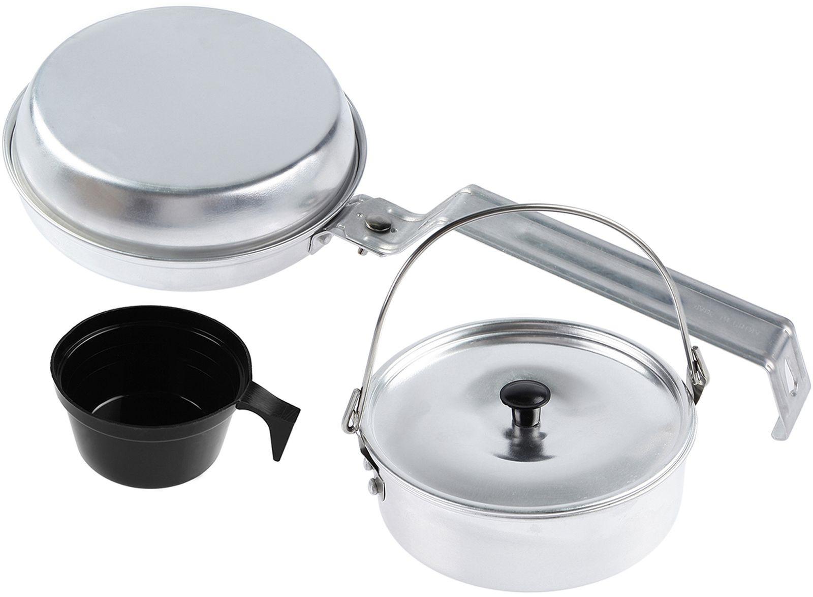 Набор походной посуды Следопыт Персона, 4199394, 4 предмета набор походной посуды tatonka picnic set 9 предметов