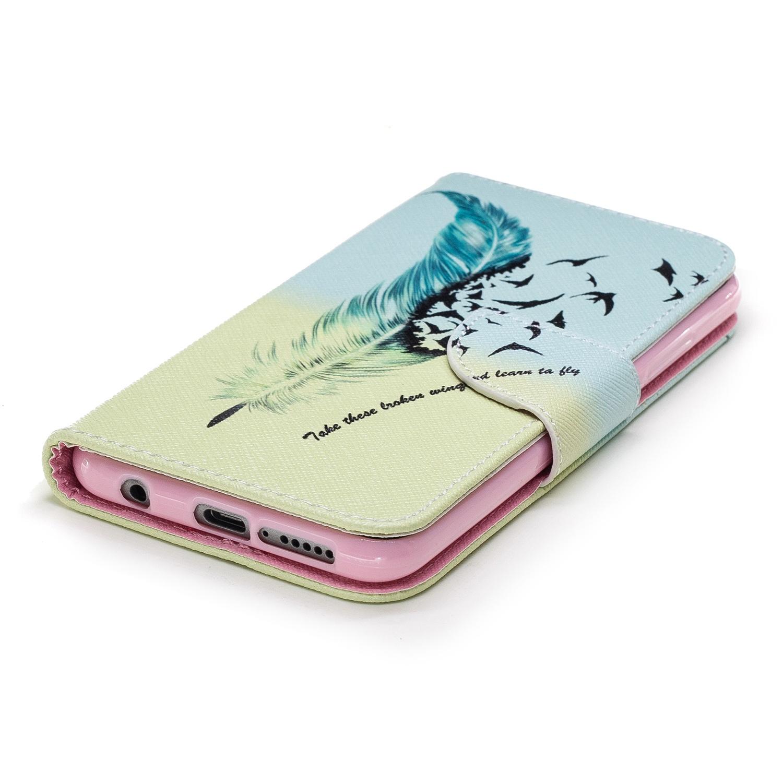 Чехол с флип-стойкой для Huawei Horor 10 (перо) телефон