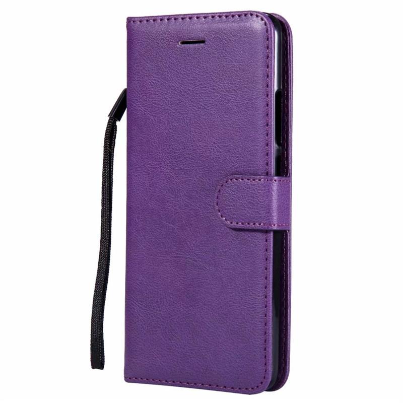 Чехол-кошелек для Xiaomi Redmi S2 откидная крышка Pure Color PU кожаный мобильный телефон сумки с слотом для карты