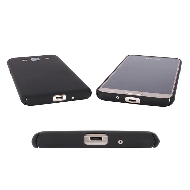 Гладкий тонкий чехол для Samsung Galaxy J3 (2016) J310 (черный) цены онлайн