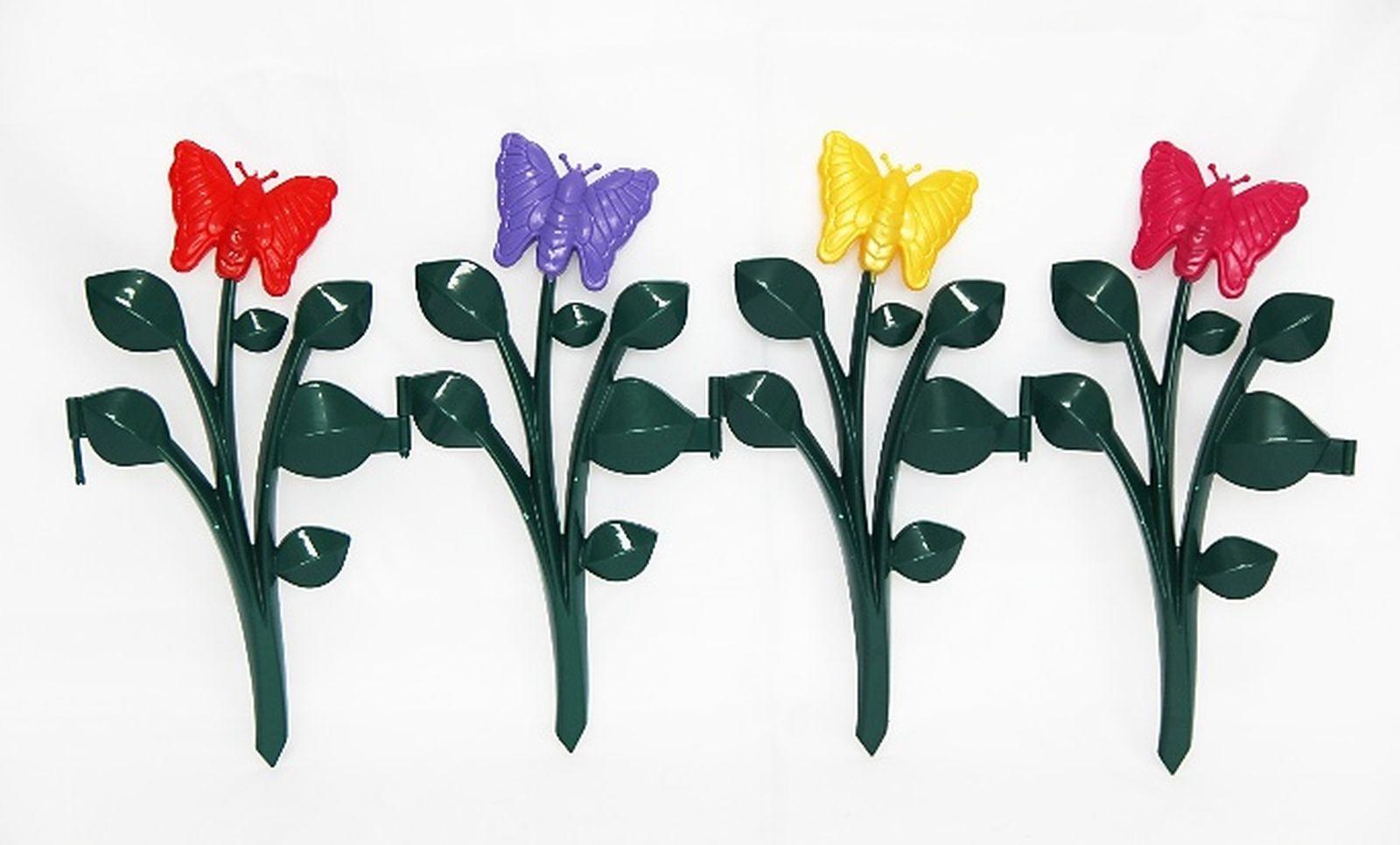 Забор садовый Бабочка, S301, 58 х 29 см, 4 шт чехол для для мобильных телефонов oem philips s301 s308 s301 5 s301 cases
