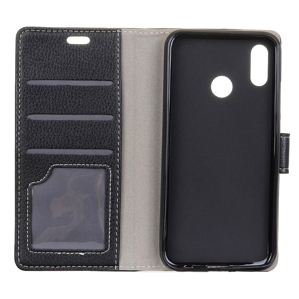 a82a417b5bfaf Huawei Honor 8x Lichee Pattern Многофункциональный флип-стойка Anti-scratch  Защитный чехол для мобильного телефона с гнездами для карт Black — купить в  ...