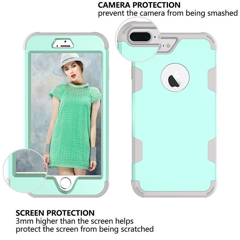 Защитный ударопрочный чехол для задней крышки корпуса для Apple iPhone, Samsung Galaxy