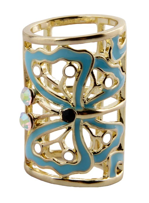 Муфта/кольцо для платка бижутерное Антик Хобби зажим для шарфа платка кобра бижутерный сплав стразы