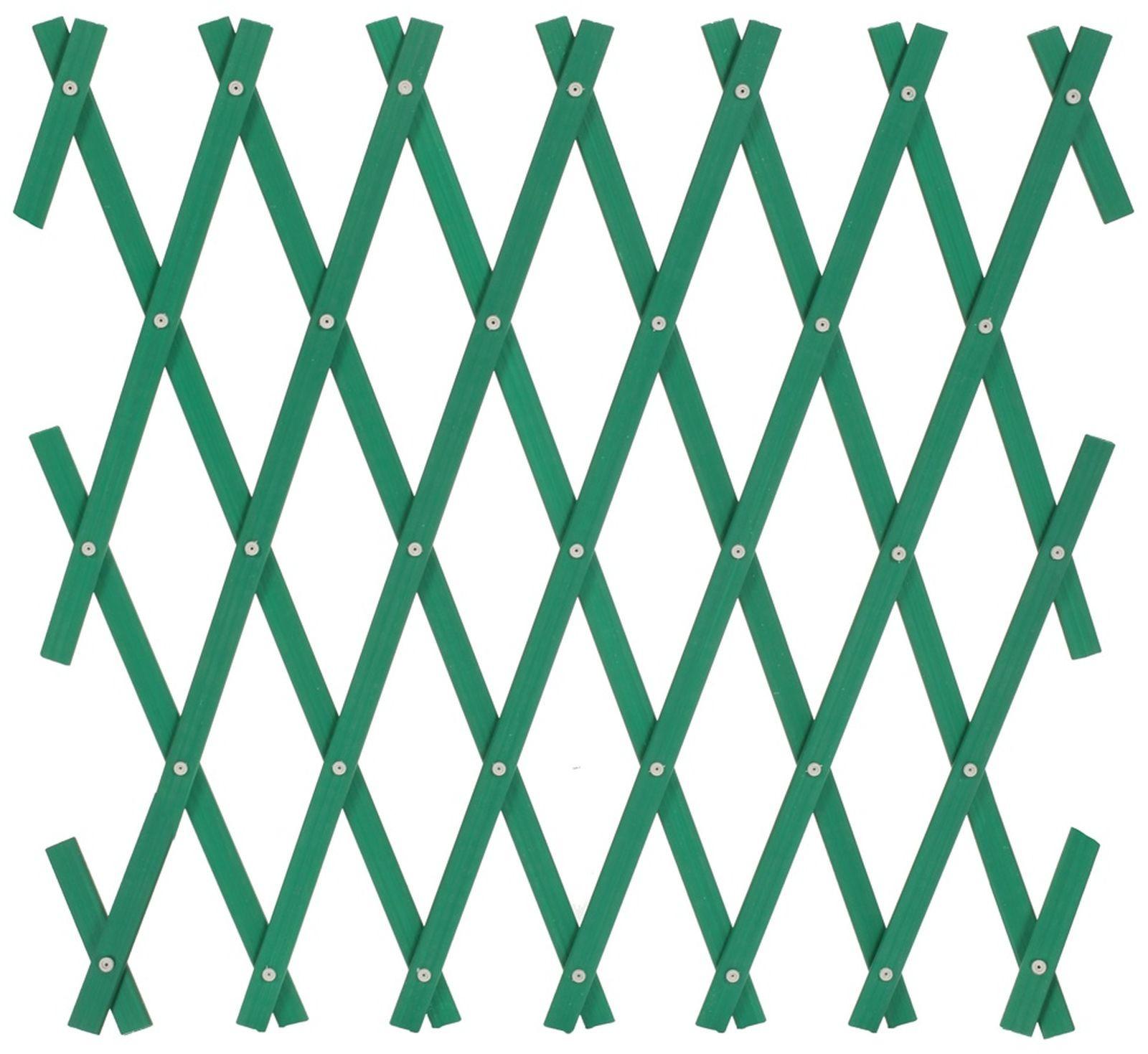Решетка раздвижная, S320, зеленый, 150 х 50 см