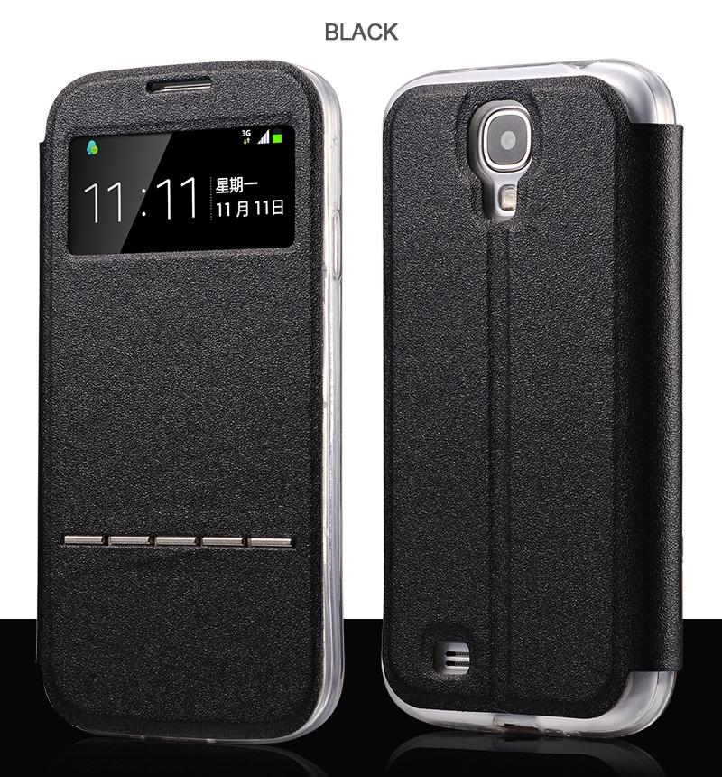 для Samsung Galaxy S6 Чехлы Роскошный смарт-ответ Кожаный флип Силиконовый чехол для Samsung S4 S5 mini Note Capa 3 4 5 Shell Cover 2 стоимость