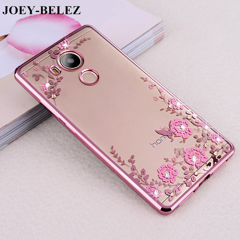 Case Rhinestones Soft TPU Plating Case For Huawei Honor 6A Cases DLI-TL20 case for Huawei Honor 6A Silicone DLI-AL10 5.0 hot sale high quality best price silicone soft gel protective case skin cover shell protector for ndsl for nds lite 5 colors
