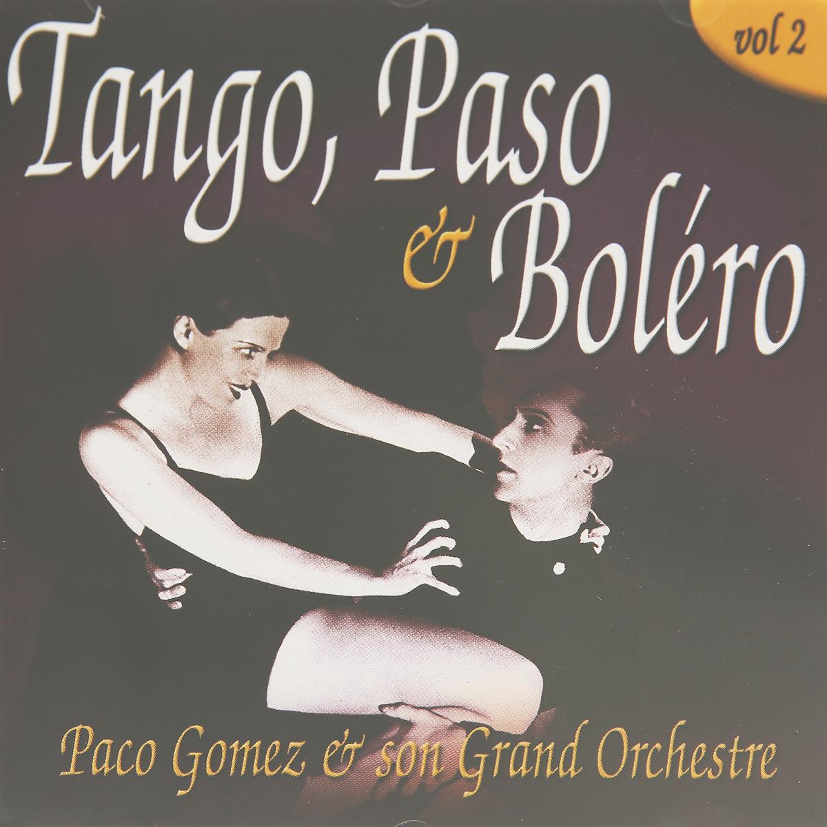 GOMEZ, PACO. TANGO, PASO & BOLERO 2 tango зебра dct68 14 код2084