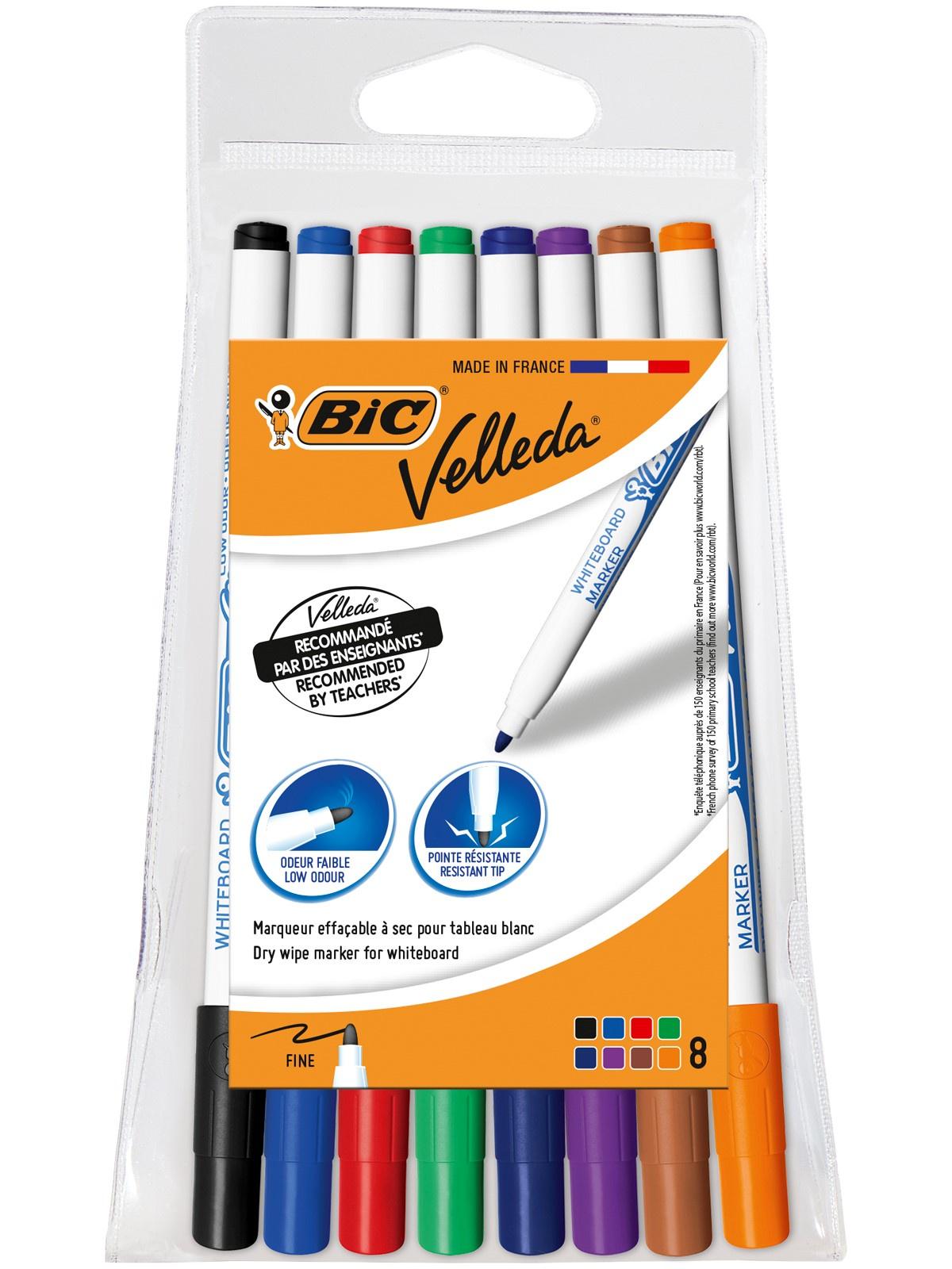 Маркеры для доски для рисования 8 цветов