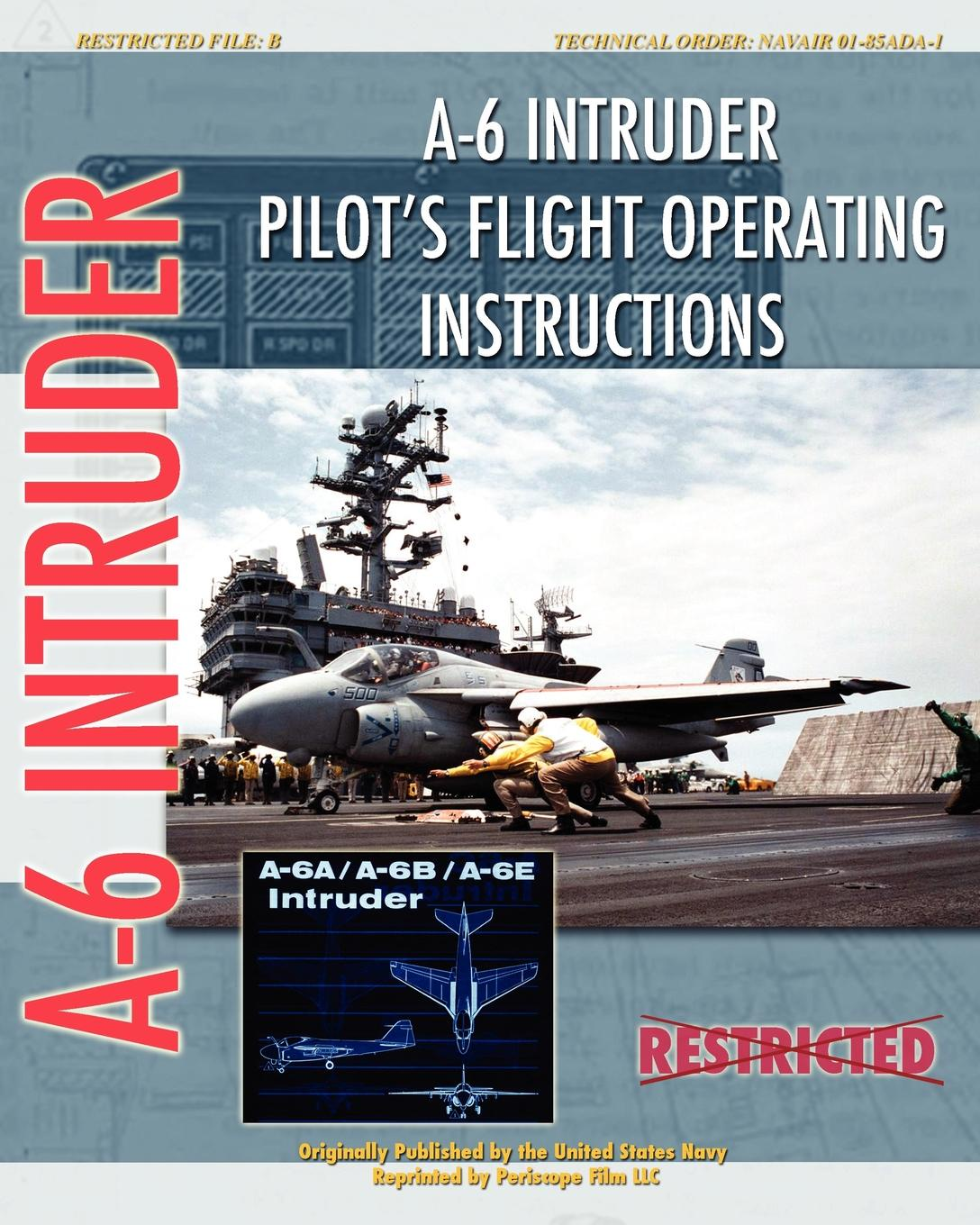 United States Navy A-6 Intruder Pilot's Flight Operating Instructions