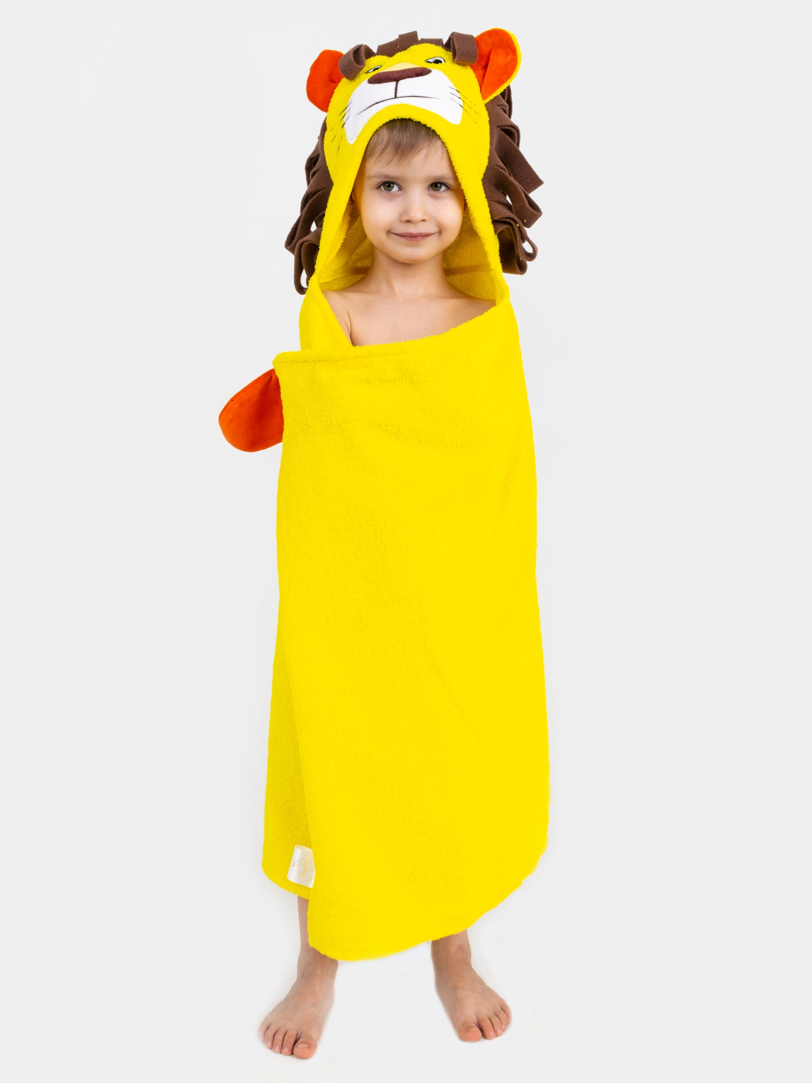 Полотенце с капюшоном BabyBunny - Лев
