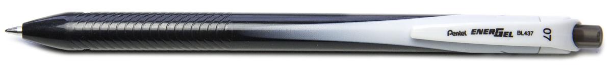 Ручка гелевая Pentel Energel, одноразовая, PBL437-A, цвет чернил черный, 0,7 мм