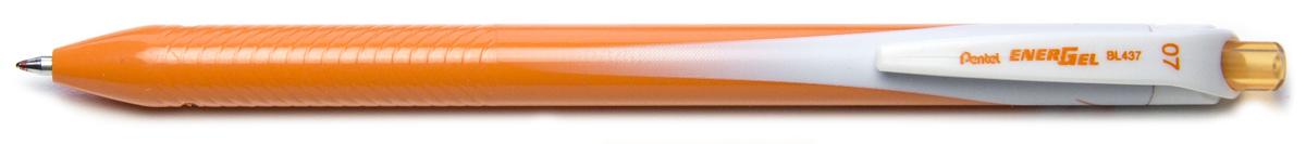 Ручка гелевая Pentel Energel, одноразовая, PBL437-F, цвет чернил оранжевый, 0,7 мм цена и фото