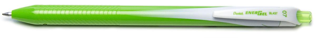 Ручка гелевая Pentel Energel, одноразовая, PBL437-K, цвет чернил салатовый, 0,7 мм цена и фото