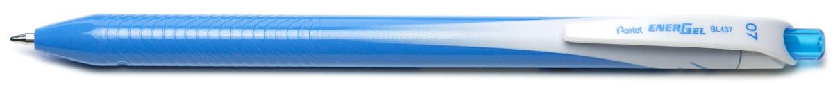 Ручка гелевая Pentel Energel, одноразовая, PBL437-S, цвет чернил голубой, 0,7 мм цена и фото