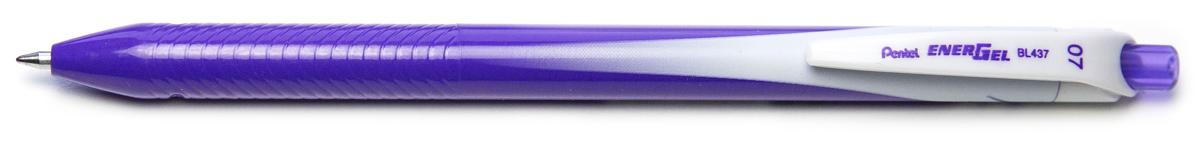 Ручка гелевая Pentel Energel, одноразовая, PBL437-V, цвет чернил фиолетовый, 0,7 мм