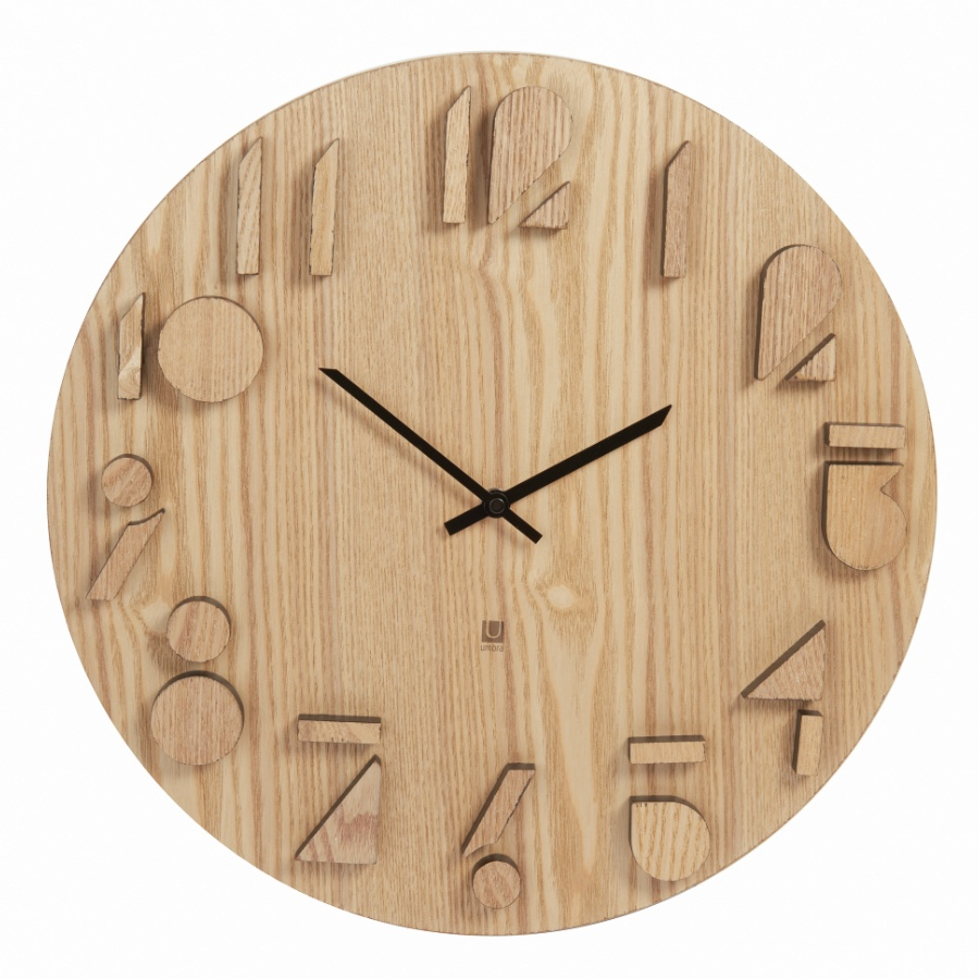 Настенные часы Umbra Часы настенные Shadow натуральное дерево все цены