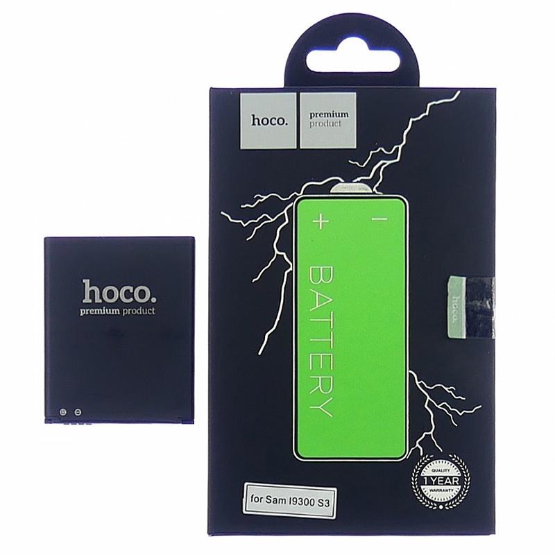 Аккумулятор для телефона Samsung EB-L1G6LLUCSTD / i9300 GALAXY S3, 2100mAh, Hoco