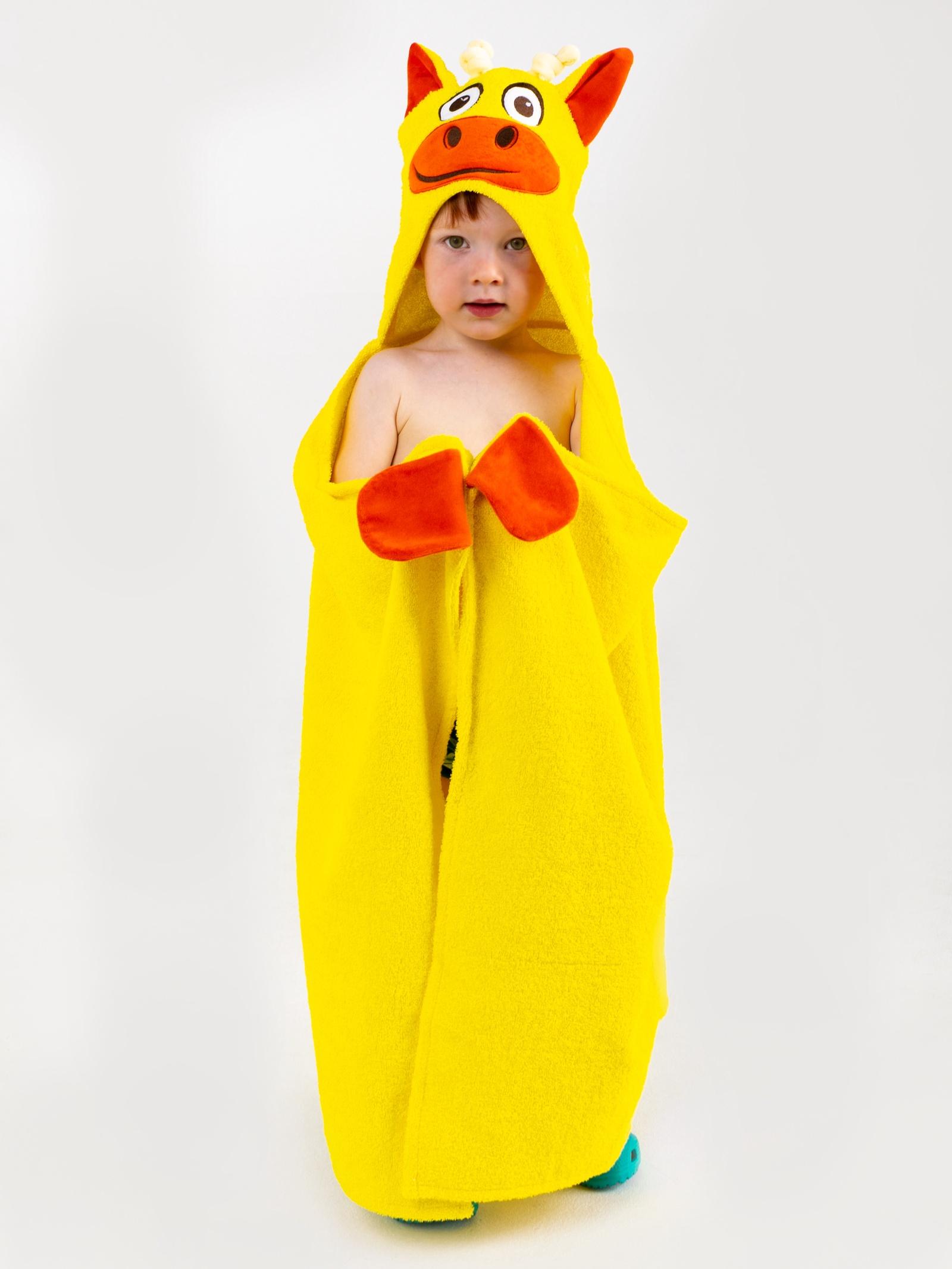 Полотенце с капюшоном BabyBunny - Жираф