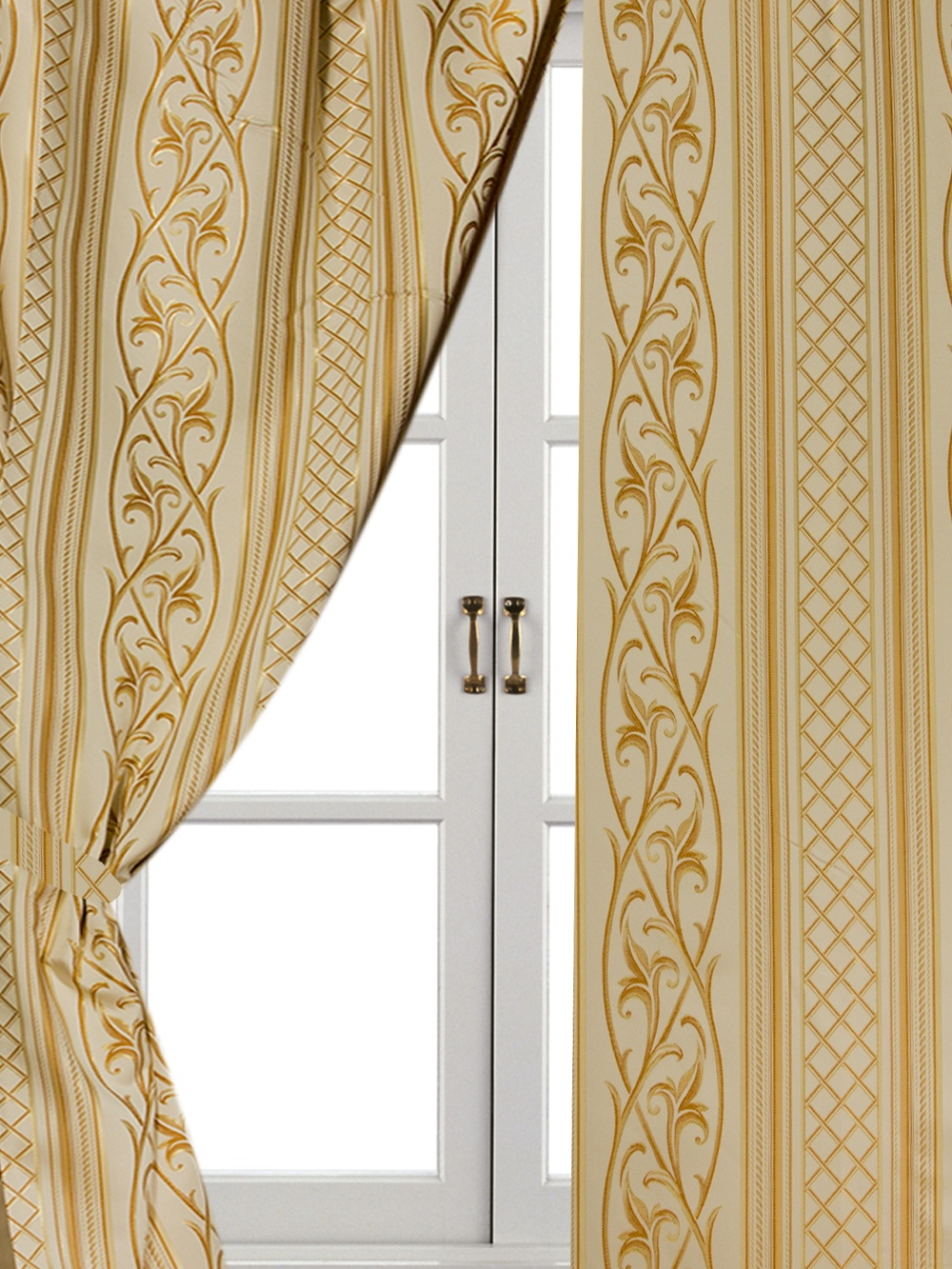 Шторы комнатные Айлант ОБ36 шторы homedeco нитяные шторы яркие кольца