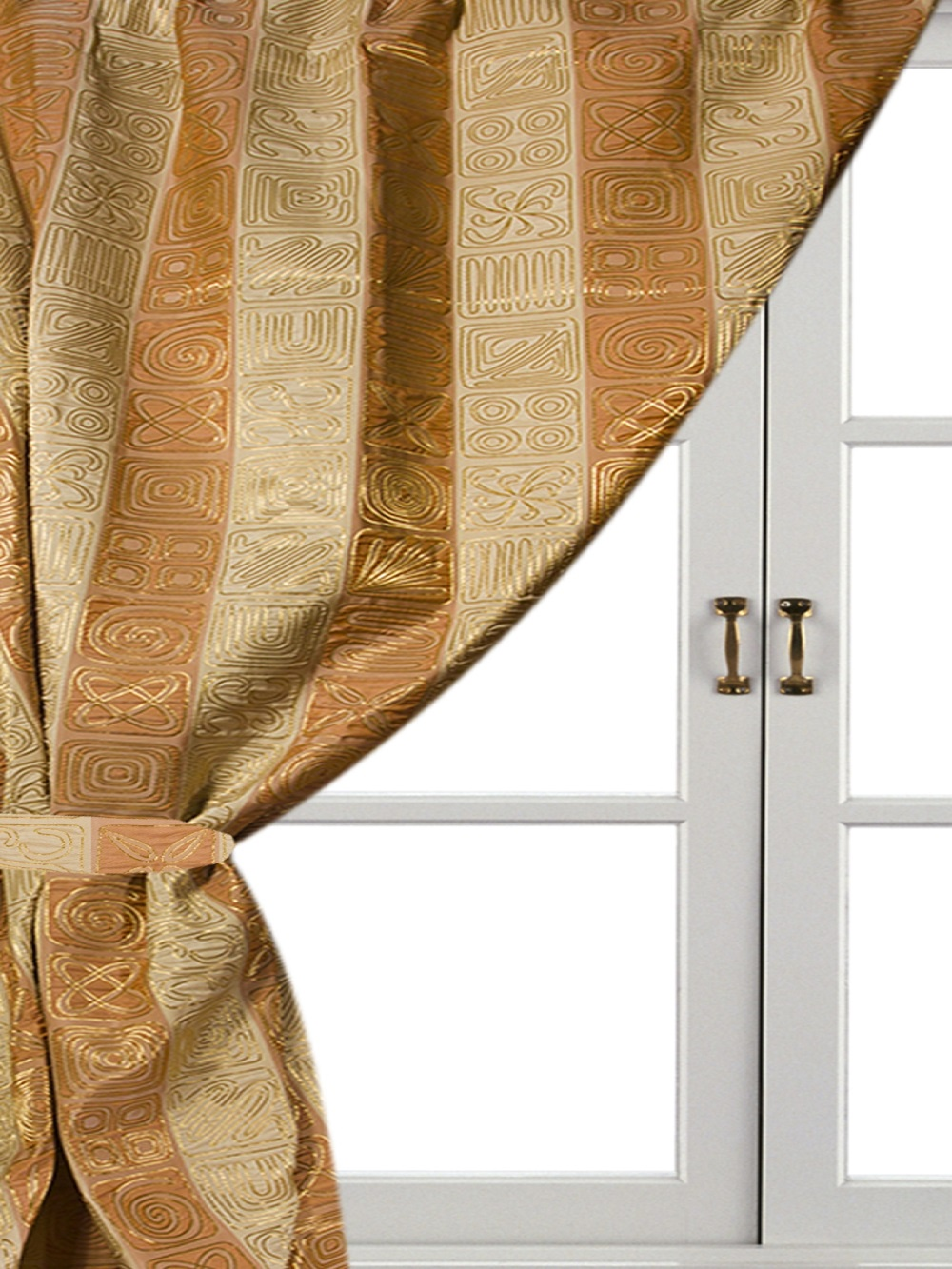 Шторы комнатные Айлант ОБ13 шторы homedeco нитяные шторы яркие кольца