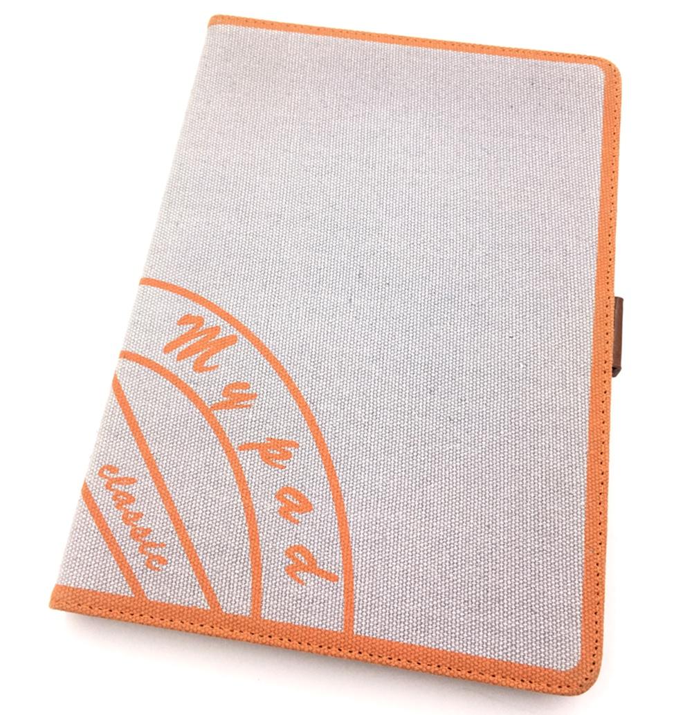 Apple iPad Air Чехол-книжка из ткани с подставкой и держателем Мобильная Мода, коричневый