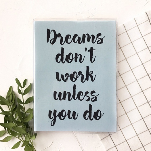 Планер Студия Craft Dreams don't work Mini