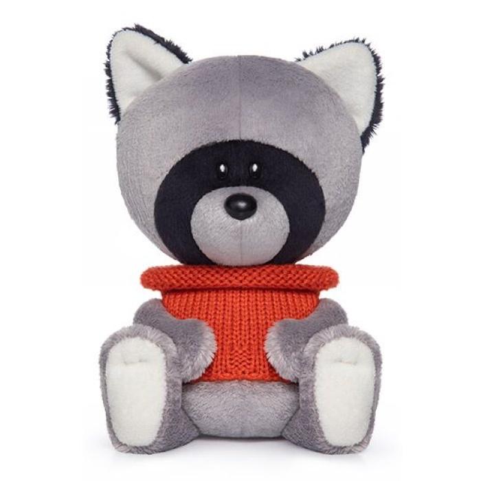 Мягкая игрушка Budi Basa Енот Лёка в свитере, 15 см nici мягкая игрушка айюми улыбка