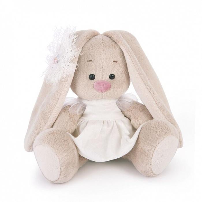 Мягкая игрушка Budi Basa Зайка Ми в белом платье с голубем (малыш), 15 см nici мягкая игрушка айюми улыбка