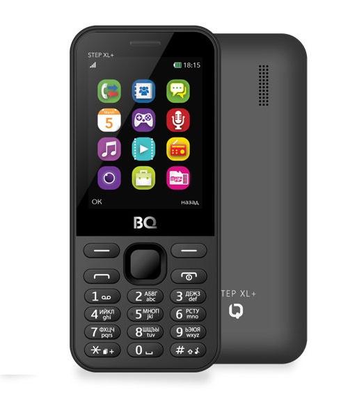 Мобильный телефон BQM-2831 Step XL + Gray мобильный телефон bq 2831 step xl белый