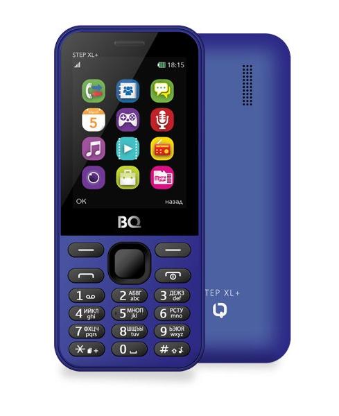 Мобильный телефон BQM-2831 Step XL+ Dark Blue мобильный телефон bq 2429 touch черный 2 4 32 мб bluetooth