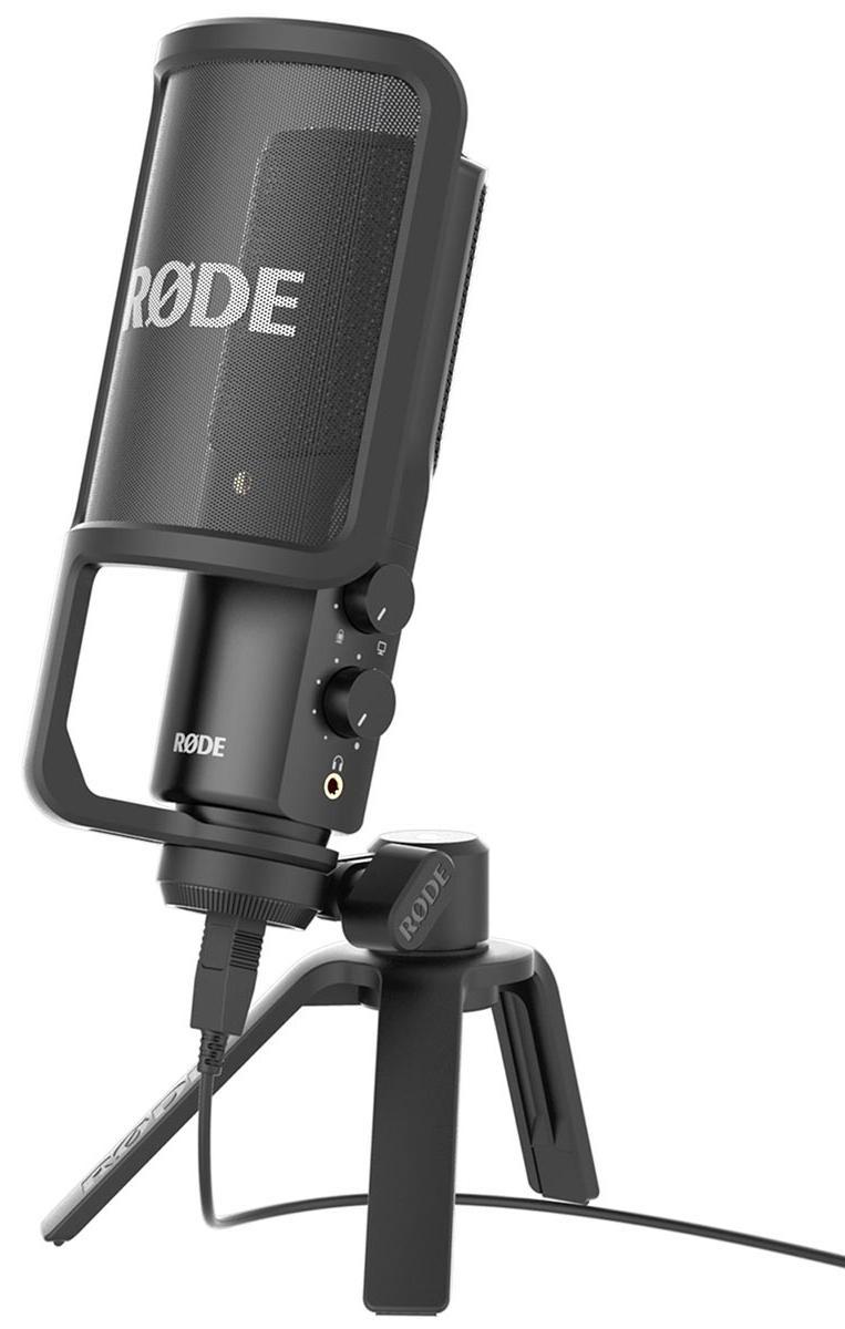 Универсальный USB конденсаторный микрофон Rode NTUSB