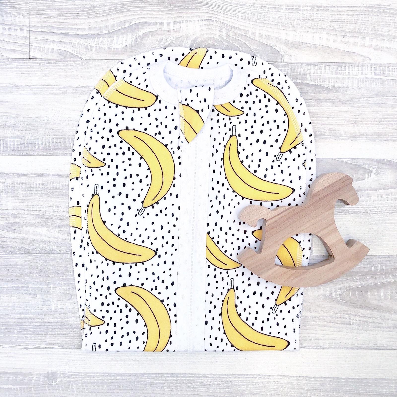 Пеленка-кокон Mjolk  Бананы Пеленальный кокон Mjolk на двухзамковой...