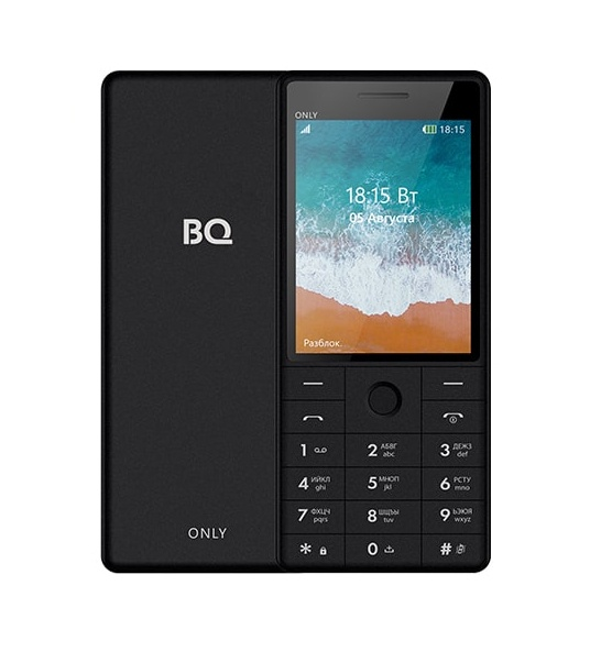 Мобильный телефон BQM-2815 Only Black махаон принцесса линдагуль и другие сказки