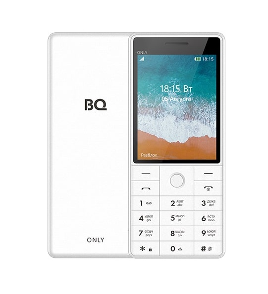 Мобильный телефон BQM-2815 Only White стоимость