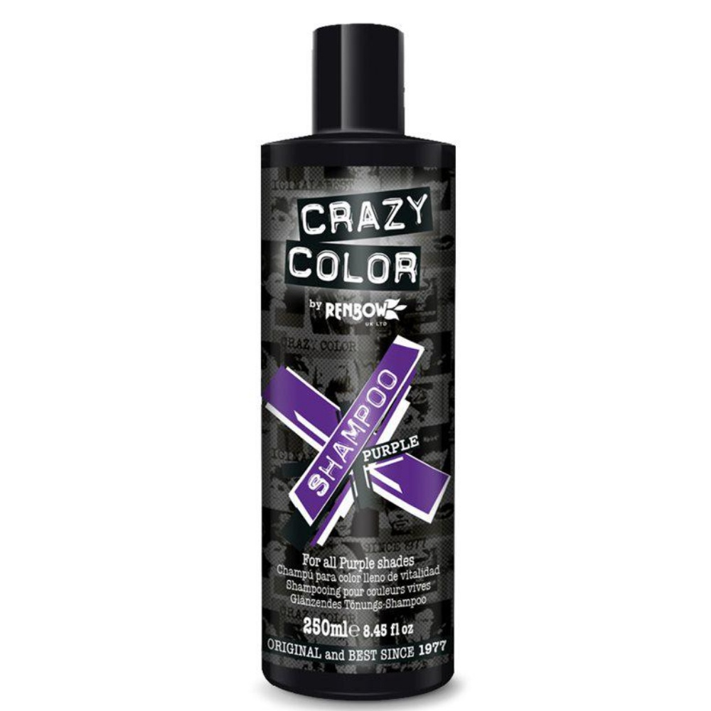 Шампунь CRAZY COLOR Shampoo (For Purple Shades)