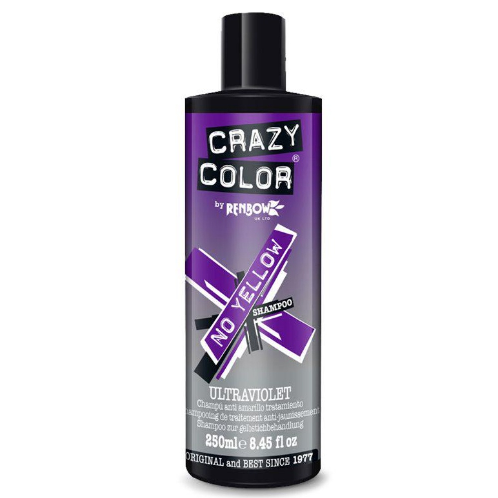 Шампунь CRAZY COLOR No Yellow Shampoo Ultraviolet