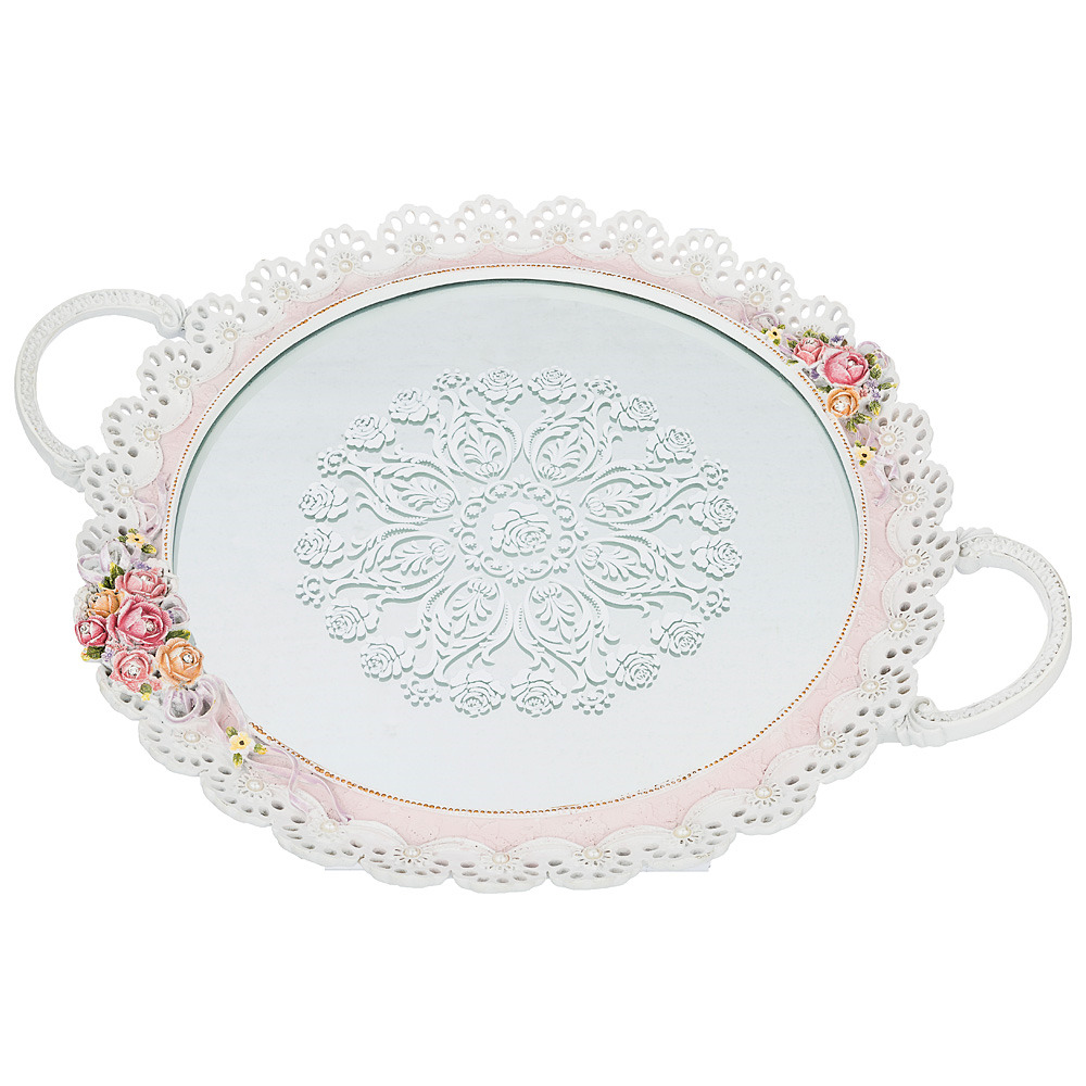 Поднос декоративный Lefard, 504-164, 47 х 38 см поднос декоративный rosanna classy